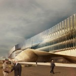Government buildings for GDIS by AGi architects, exhibited in Morocco