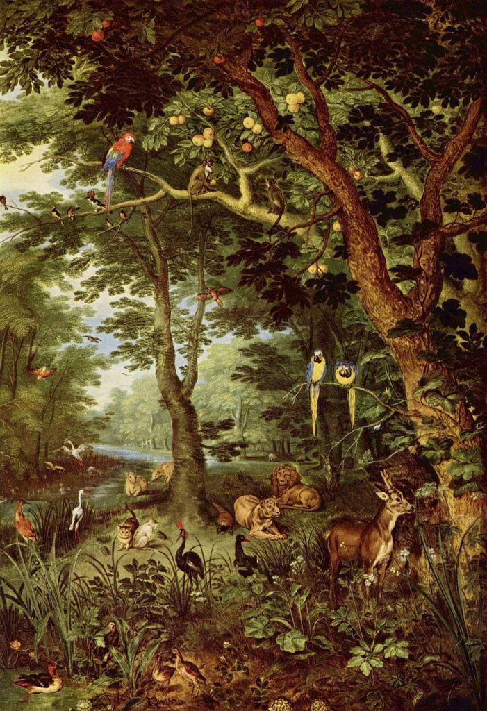 Das Paradies, Jan Brueghel the Elder.