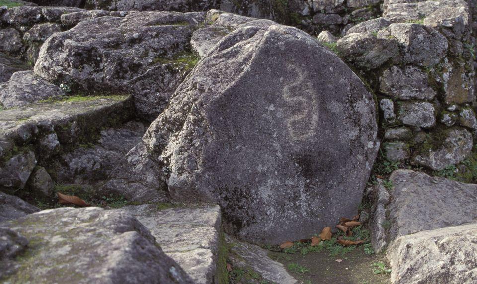 Petroglifo Pedra da Serpe Castro da Troña