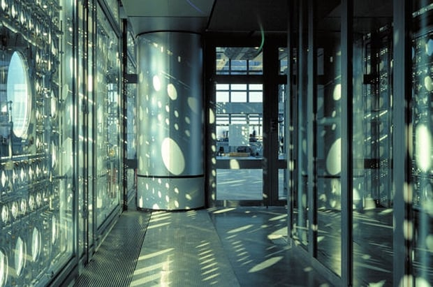 Celosía Mecanizada en Institut Monde Arabe Jean Nouvel