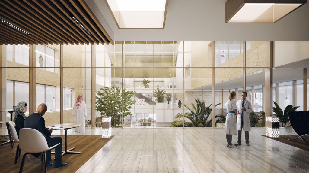 Kidney Clinic by AGi architects image by Poliedro - healthcare architecture