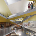 Natural context and educational architecture: Losbates new school