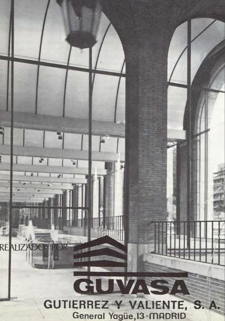 Centro de Arte de la Arquería de Nuevos Ministerios - 1983