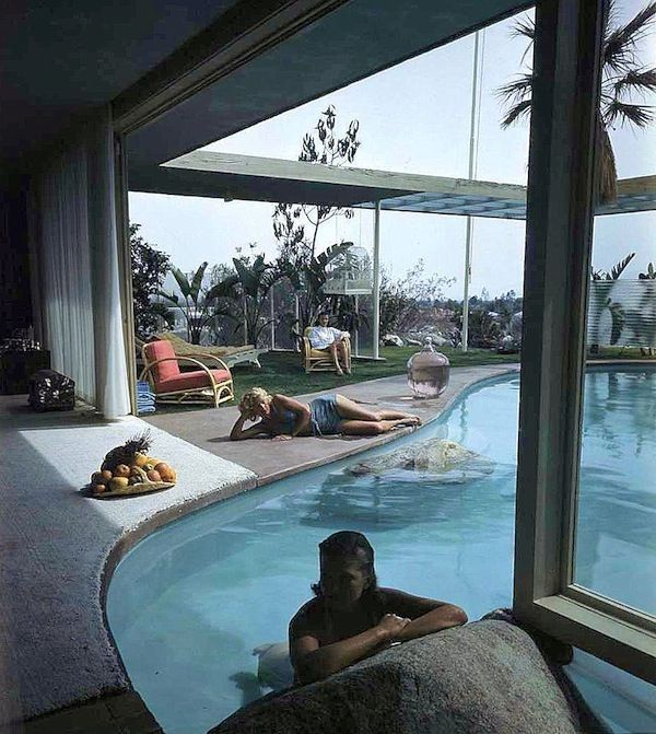 Swimming pools: Loewy House, Albert Frey.