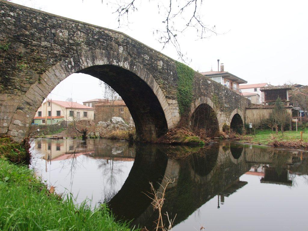 Camino de Santiago - Furelos Bridge