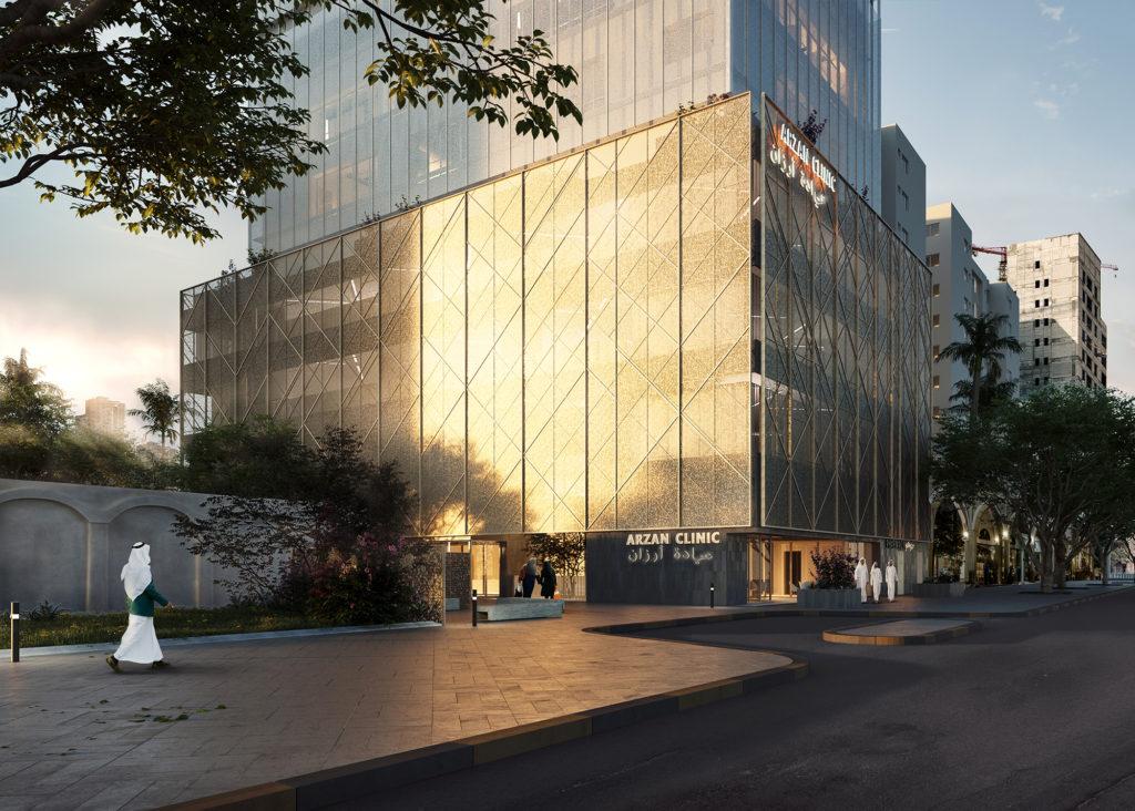 Omni Clinic. AGi architects. Medical Architecture project.
