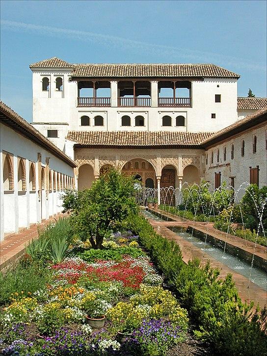 Patio de la Acequia - agua en la arquitectura