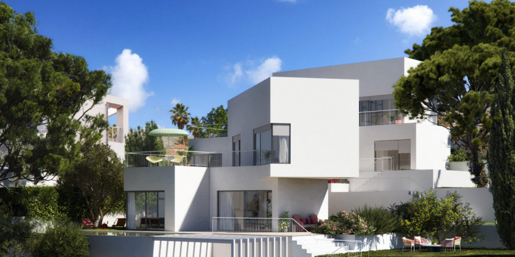 5 Gems. Villas in Marbella - AGi architects