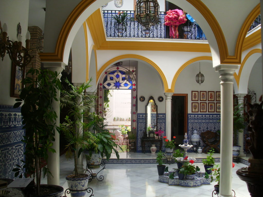 Sevilla - courtyard house