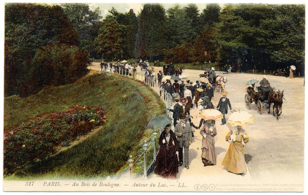 Parque urbano - Bois de Boulogne