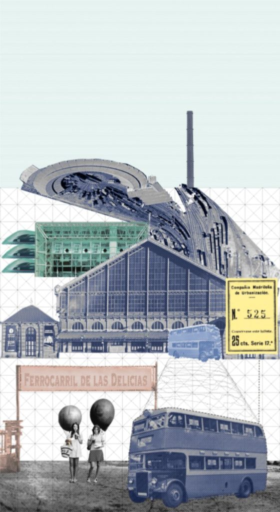 AGi architects. Museo del Ferrocarril, Madrid.