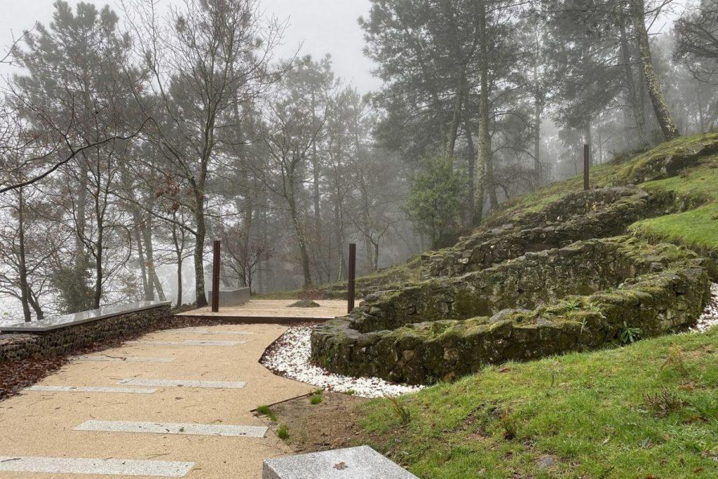 paisaje y patrimonio - Castro de A Subidá, Trazas de Pontevedra, AGi architects.