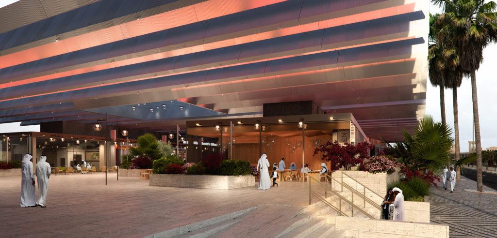 Tamdeen Square Mall, AGi architects. Imagen de The Viz Design Company