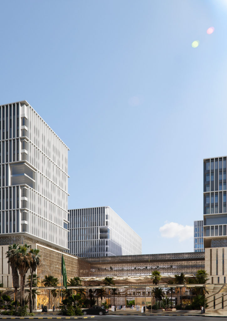 City of Justice in Saudi Arabia. AGi architects. Render by The Viz Design Company