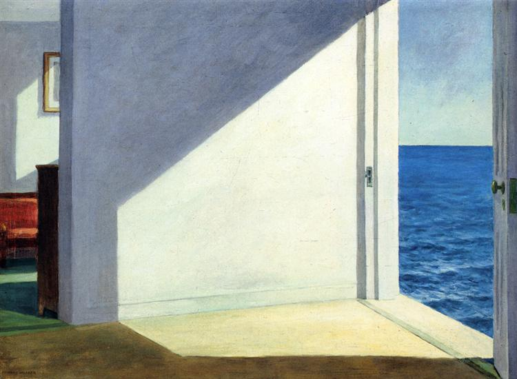 Edward Hopper, Rooms by the Sea, 1951