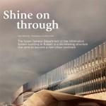 Artículo sobre el edificio administrativo del GDIS en la revista asiática Perspective