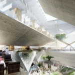 Second prize for our institutional building entry in Qatar Courthouse Competition