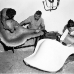 The Eames chair, warfare technology at the service of everyday life