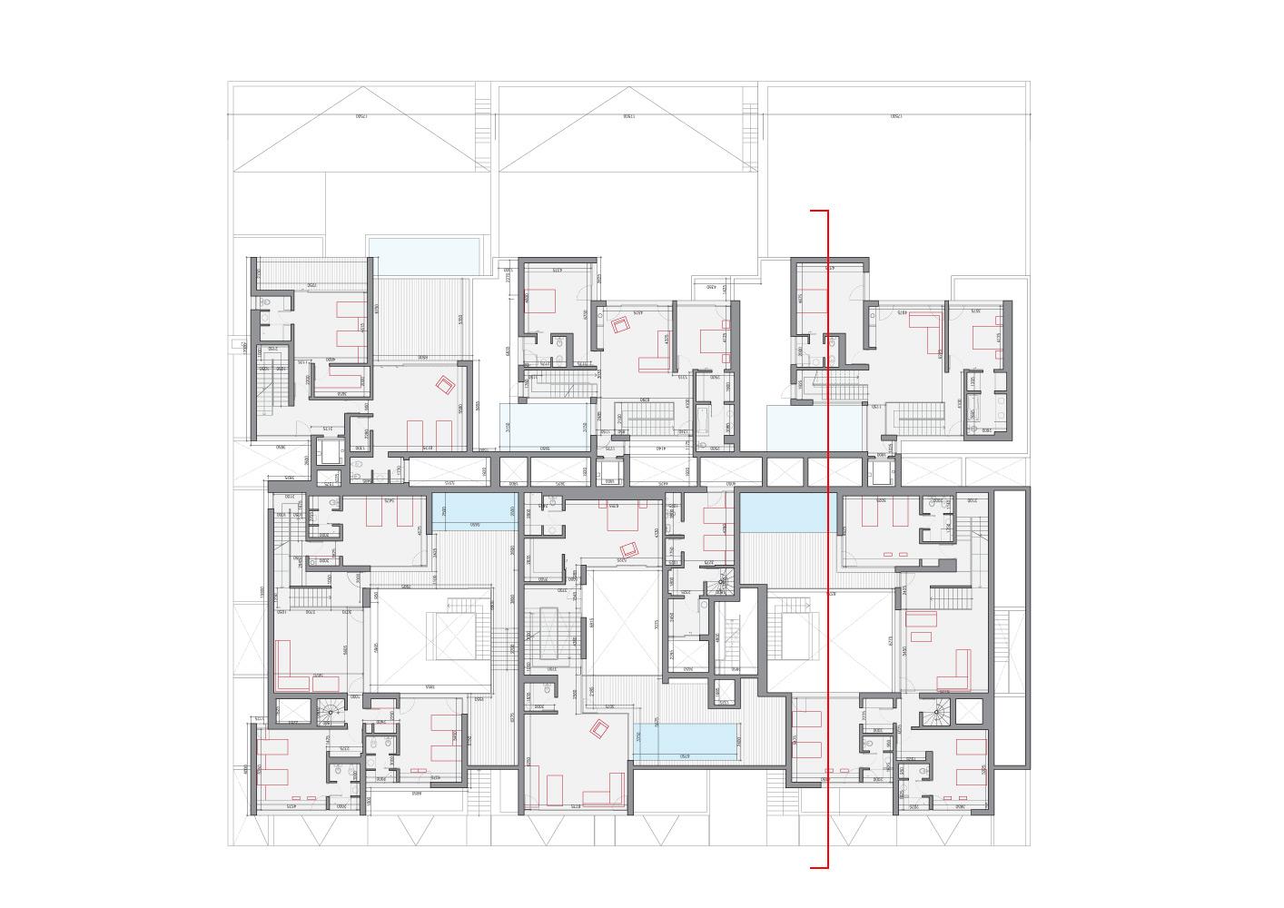 black white house agi architects